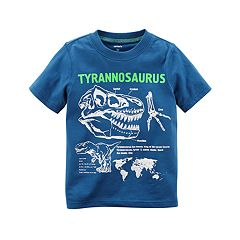 Toddler Boy Carter's 'Tyrannosaurus' Skeleton Dinosaur Graphic Tee