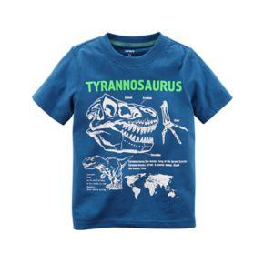 "Toddler Boy Carter's ""Tyrannosaurus"" Skeleton Dinosaur Graphic Tee"