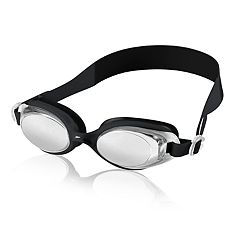 Men's Speedo Free Flow Mirrored Swim Goggles