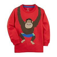 Toddler Boy Carter's Lift Flap Monkey Graphic Tee