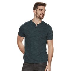 Men's Rock & Republic Mock-Layered Henley Tee