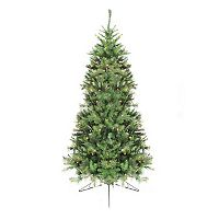 Northlight 6.5-ft. Pre-Lit Canyon Pine Artificial Half Christmas Tree