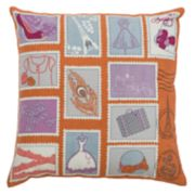 Rizzy Home Paris Eiffel Tower Throw Pillow