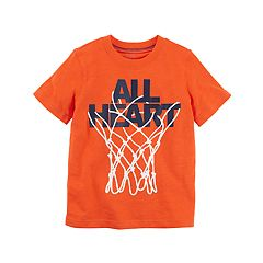 Toddler Boy Carter's Basketball Net 'All Heart' Graphic Tee