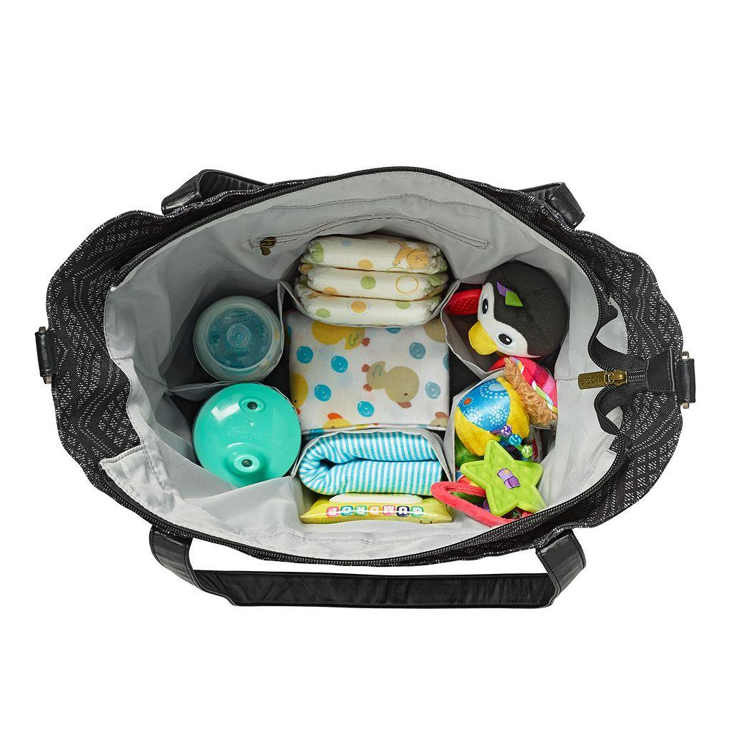 JJ Cole Bucket Tote Diaper Bag