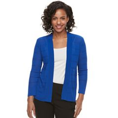 Women's Apt. 9® Pointelle Striped Cardigan