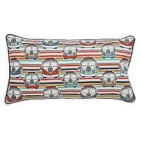Rizzy Home Retro Bus Print Oblong Throw Pillow