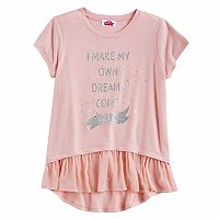 Disney Princess Girls 7-16 Hi-Lo Tee