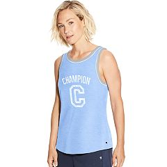 Women's Champion Heritage Contrast Trim Graphic Tank
