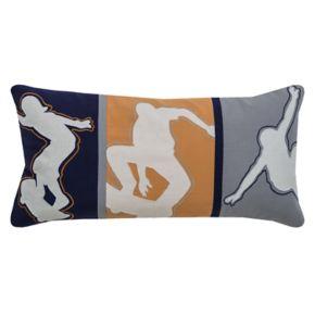 Rizzy Home Skateboard Oblong Throw Pillow