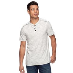 Men's Rock & Republic Layered-Collar Henley