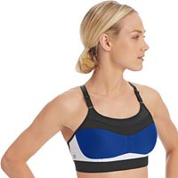 Champion Bras: Show Off Colorblock High-Impact Sports Bra 1666D