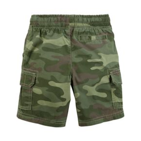 Toddler Boy Carter's Camouflaged Cargo Shorts