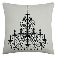 Rizzy Home Chandelier Throw Pillow
