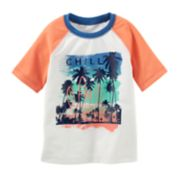 "Toddler Boy OshKosh B'gosh® ""Chill"" Beach Rash Guard"
