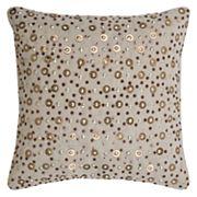 Rizzy Home Sequin Throw Pillow