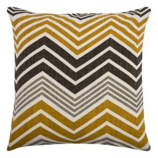 Rizzy Home Chevron Print Throw Pillow