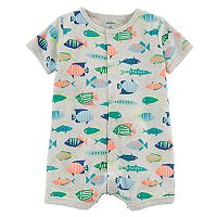 Baby Boy Carter's Fish Romper