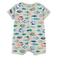 Baby Boy Carter's Fish Romper