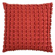 Rizzy Home Textured Circles Throw Pillow