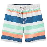 Toddler Boy OshKosh B'gosh® Striped Swim Shorts
