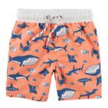 Toddler Boy OshKosh B'gosh® Ocean Sea Life Swim Shorts