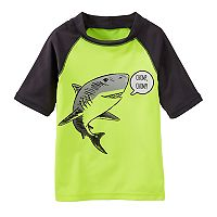 Toddler Boy OshKosh B'gosh® Shark Raglan Rash Guard