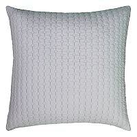 Rizzy Home Diamond Stitch Throw Pillow