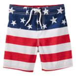 Toddler Boy OshKosh B'gosh® Flag Swim Trunks