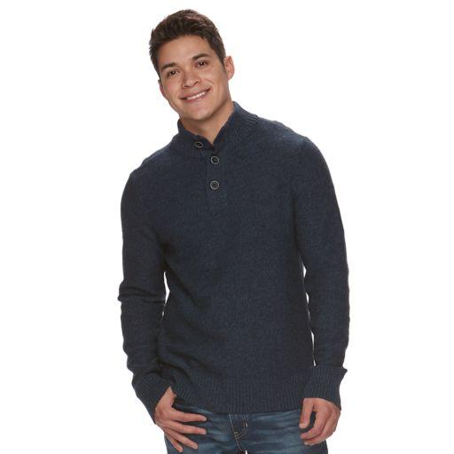 Big & Tall Men's Urban Pipeline® Mockneck Sweater
