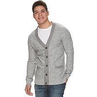 Big & Tall Men's Urban Pipeline® V-Neck Button-Front Cardigan