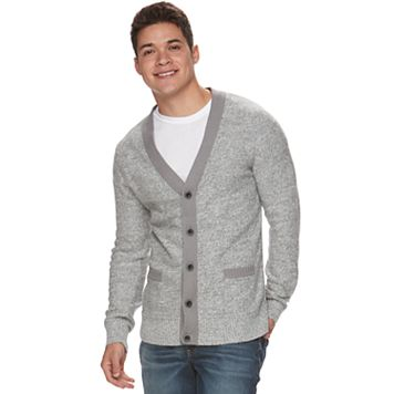 Big & Tall Men's Urban Pipeline® V-Neck Button-Front Cardigan