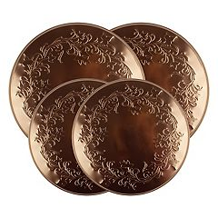 Range Kleen 4-pc. Copper Ivy Burner Kover Set