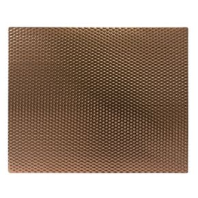 "Range Kleen 17"" x 20"" Copperwave Counter Mat"