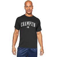 Big & Tall Champion Logo Graphic Tee