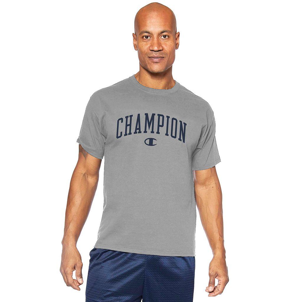 Big & Tall Champion Logo Graphic Tee