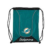 Northwest Miami Dolphins Double Header Drawstring Backpack