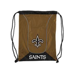 Northwest New Orleans Saints Double Header Drawstring Backpack