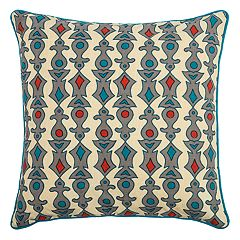 Rizzy Home Laura Fair Geometric Stripe Throw Pillow