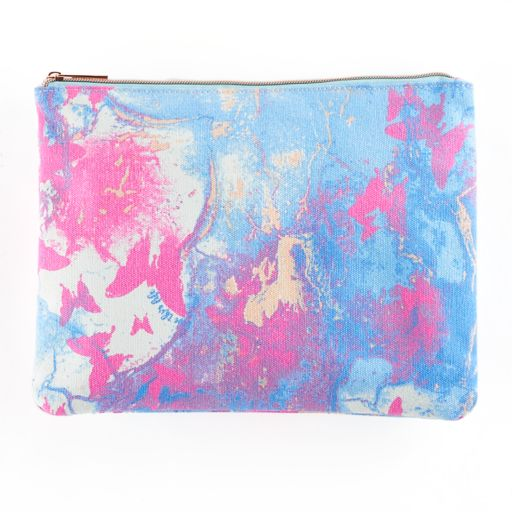 love this life Marbled Butterfly Pouch