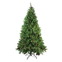 Northlight 6.5-ft. Pre-Lit Dakota Red Pine Artificial Christmas Tree