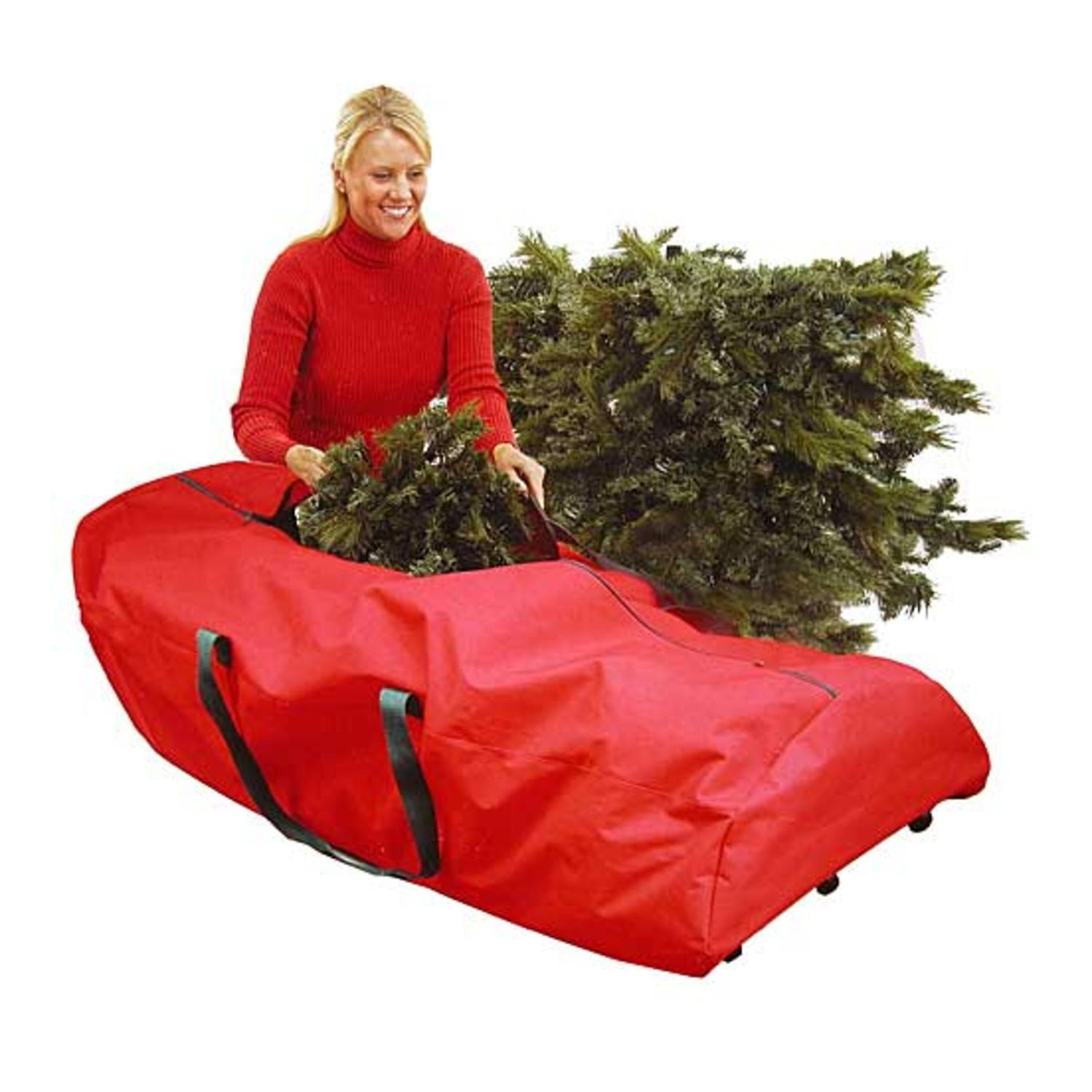 Gentil Heavy Duty Rolling Artificial Christmas Tree Storage Bag