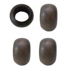 Food Network™ Wood Napkin Rings 4-pack