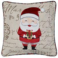 Spencer Home Decor Grand Santa Holiday Throw Pillow