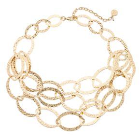 Dana Buchman Multi Strand Marquise Link Necklace