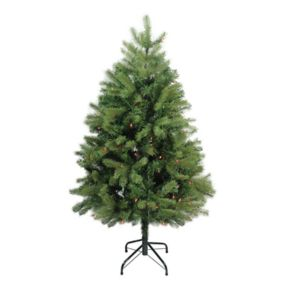 Northlight 4-ft. Pre-Lit Noble Fir Artificial Christmas Tree