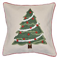 Spencer Home Decor Kris Kringle Christmas Tree Holiday Throw Pillow
