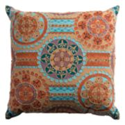 Rizzy Home Embellished Medallions Throw Pillow