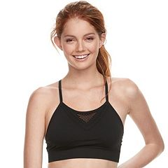 Juniors' SO® Seamless Open Work Bra JG81A007R