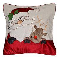 Spencer Home Decor Sleigh Buddies Holiday Throw Pillow
